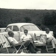 Picnic by the car