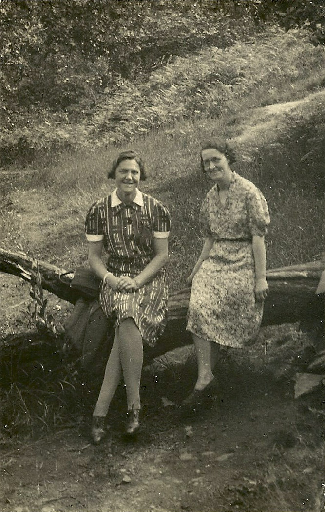 Eileen Margaret with Marjorie Alty