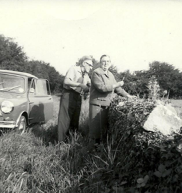 On the way to Eastleach, August 1963