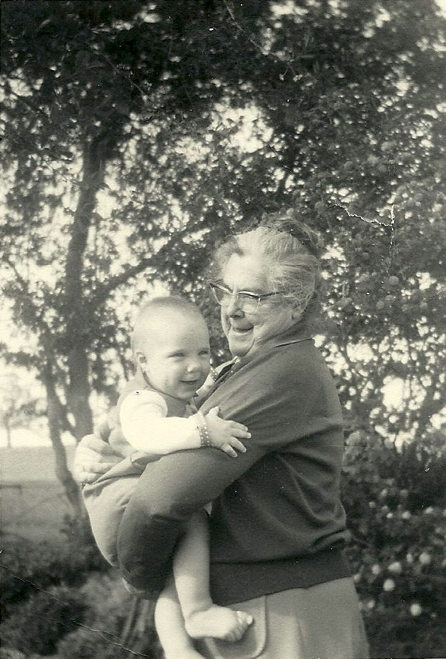 In my grandmother's arms, 1966