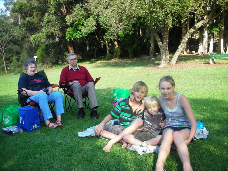 grandparents' picnic